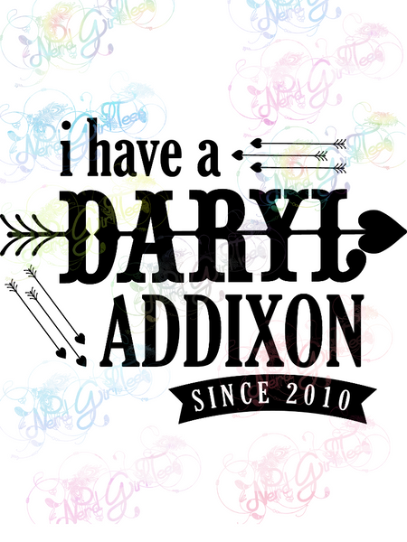 Daryl Addixon - Fandoms - Digital Print, SVG, PNG, JPG Files