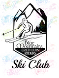 Ered Luin Riders Ski Club - LOTR Parody - Digital Print, SVG, PNG, JPG Files
