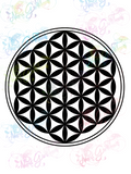 Flower of Life - Sacred Geometry - Digital Print, SVG, PNG, JPG Files