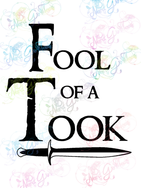 Fool of a Took - LOTR- Digital Print, SVG, PNG, JPG Files