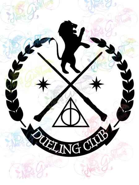 Gryffindor Dueling Club - Potter - Digital Print, SVG, PNG, JPG Files