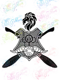 Gryffindor Quidditch - Potter - Digital Print, SVG, PNG, JPG Files