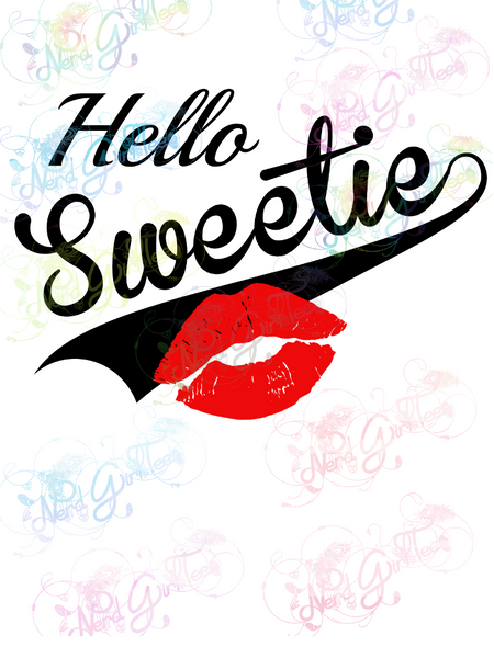 Hello Sweetie River Song - Fandoms - Digital Print, SVG, PNG, JPG Files