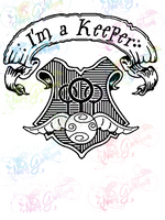 I'm A Keeper - Potter - Digital Print, SVG, PNG, JPG Files