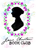Jane Austen Book Club - Books - Digital Print, SVG, PNG, JPG Files