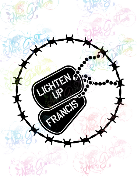 Lighten Up Francis - Fandoms - Digital Print, SVG, PNG, JPG Files