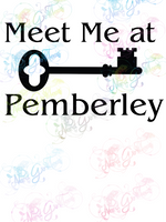 Meet Me at Pemberley - Jane Austen - Books - Digital Print, SVG, PNG, JPG Files