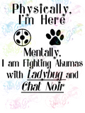 Mentally Fighting Akumas - Fandoms - Digital Print, SVG, PNG, JPG Files