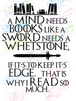 Mind Needs Books - Tyrion Quote - Fandoms - Digital Print, SVG, PNG, JPG Files