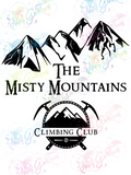 Misty Mountain Climbing Club - LOTR Parody - Digital Print, SVG, PNG, JPG Files