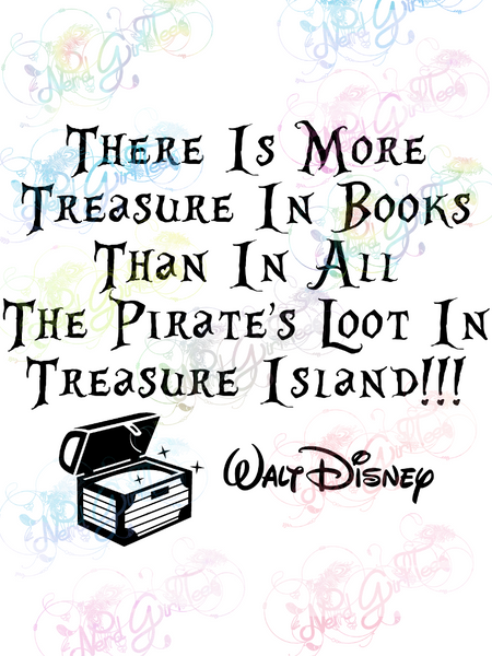More Treasure In Books - Books - Digital Print, SVG, PNG, JPG Files