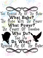 You Remind Me of the Babe - Fandoms - Digital Print, SVG, PNG, JPG Files