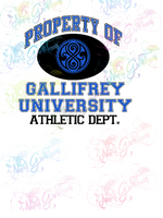 Property Of Gallifrey - Dr Who - Fandoms - Digital Print, SVG, PNG, JPG Files