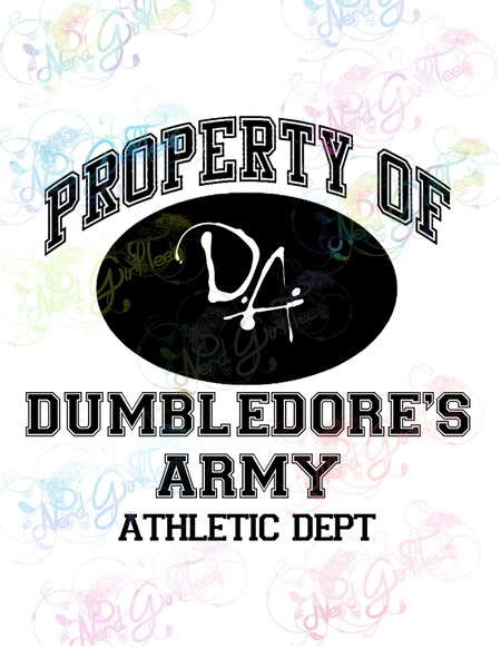 Property of Dumbledore's Army - Potter - Digital Print, SVG, PNG, JPG Files