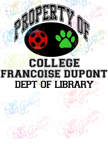 Property Of Ladybug - Fandoms - Digital Print, SVG, PNG, JPG Files