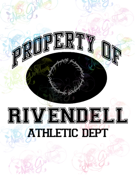 Property of Rivendell - LOTR Parody - Digital Print, SVG, PNG, JPG Files