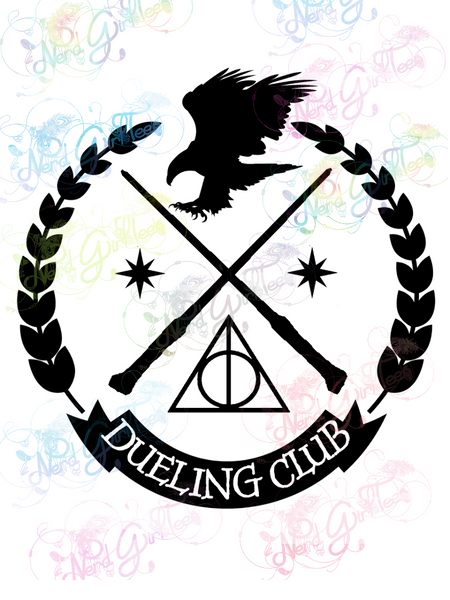 Ravenclaw Dueling Club - Potter - Digital Print, SVG, PNG, JPG Files