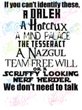We Dont Need To Talk - Scruffy Looking Nerf Herder - Multi Fandom - Digital Print, SVG, PNG, JPG Files