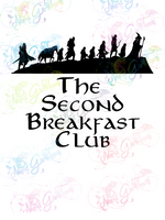 Second Breakfast Club - LOTR Parody - Digital Print, SVG, PNG, JPG Files