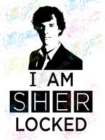 I Am Sherlocked - Sherlock - Fandoms - Digital Print, SVG, PNG, JPG Files