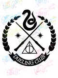 Slytherin Dueling Club - Potter - Digital Print, SVG, PNG, JPG Files