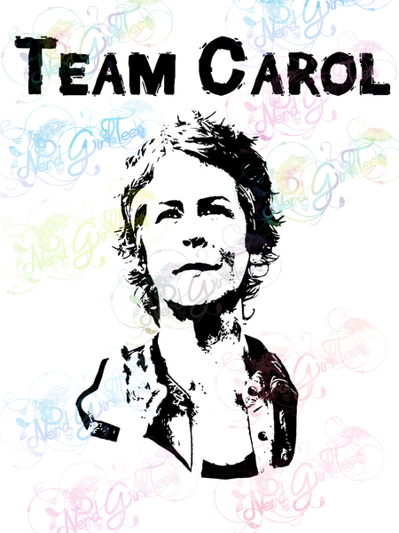 Team Carol - Fandoms - Digital Print, SVG, PNG, JPG Files