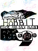The Hobbit - LOTR - Digital Print, SVG, PNG, JPG Files