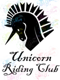 Unicorn Riding Club - Humor - Digital Print, SVG, PNG, JPG Files