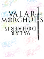 Valar Morghulis - Fandoms - Digital Print, SVG, PNG, JPG Files
