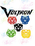 Robot Lions - Fandoms - Digital Print, SVG, PNG, JPG Files