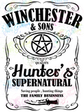 Winchester and Sons - Supernatural - Fandoms - Digital Print, SVG, PNG, JPG Files