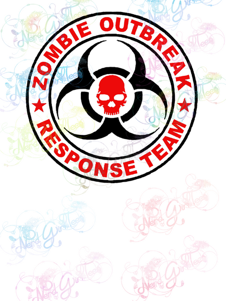 Zombie Outbreak Response Team - Fandoms - Digital Print, SVG, PNG, JPG Files