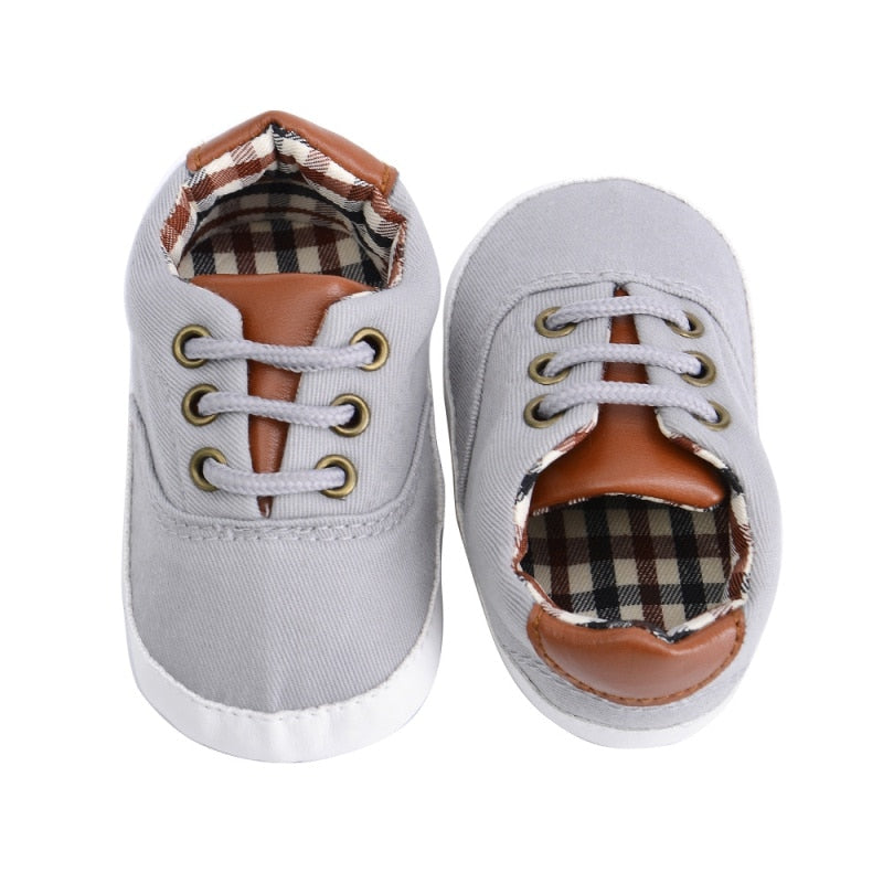 Baby Boys Canvas Sneaker Shoes