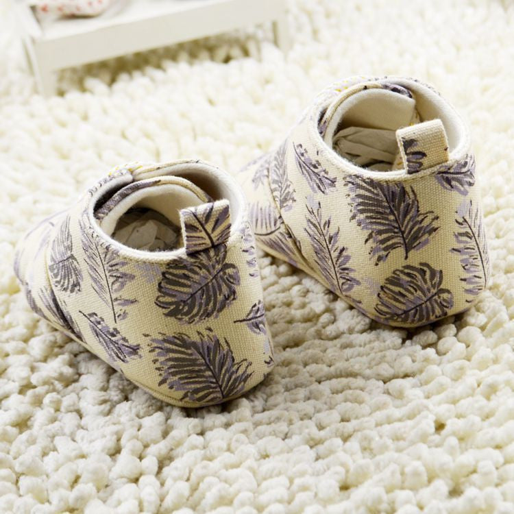 Baby Boys Feather Slip On Shoes