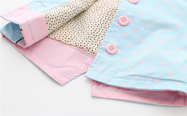 Baby Girls or Girls Candy Colored Polka Dot Jacket: 3 Colors!