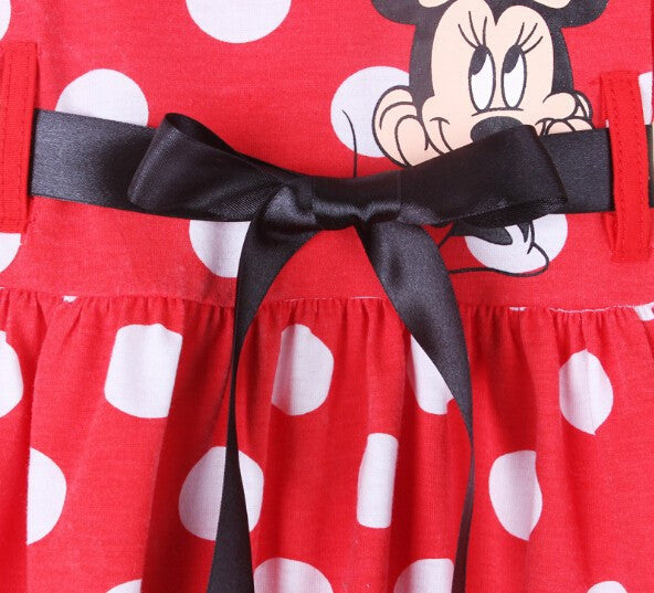 Minnie Mouse Girls Dress: 3 Styles!