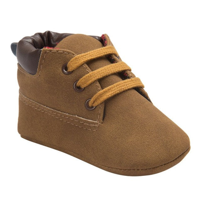 Baby Boys Classic Soft Soled Boots: 15 Colors!