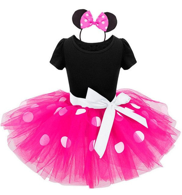 Baby Girls & Girls Minnie Mouse 3 pc. Tutu Set