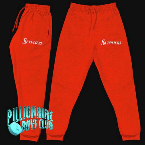PBC Suppliers Joggers Red