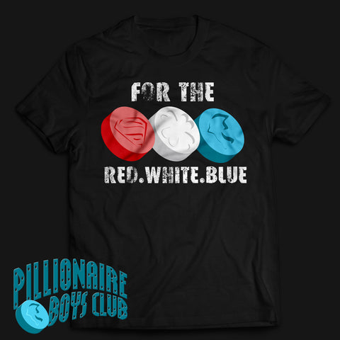 PBC Red White & Blue T-shirt