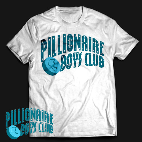 PBC Blue Dolphin T-shirt White