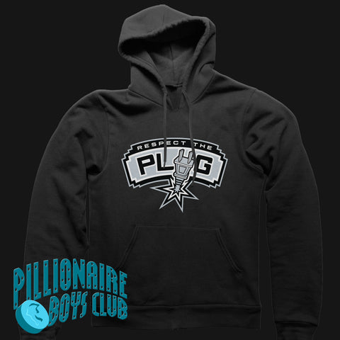 Respect the Plug Hoodie (Black)