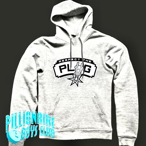 PBC Respect the Plug Hoodie Grey