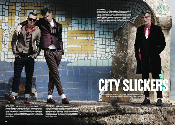 City Magazine- Teddy Boy Fashion