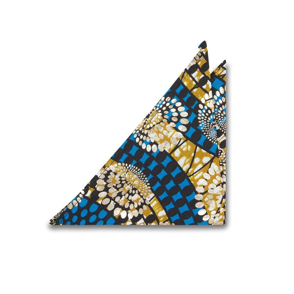 Gold Supreme Wax Pocket Square