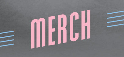 Blue Grey Pink Merchandise