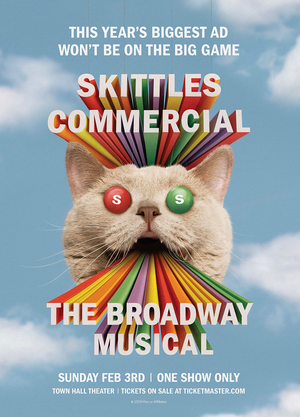 Broadway Skittles Super Bowl Ad