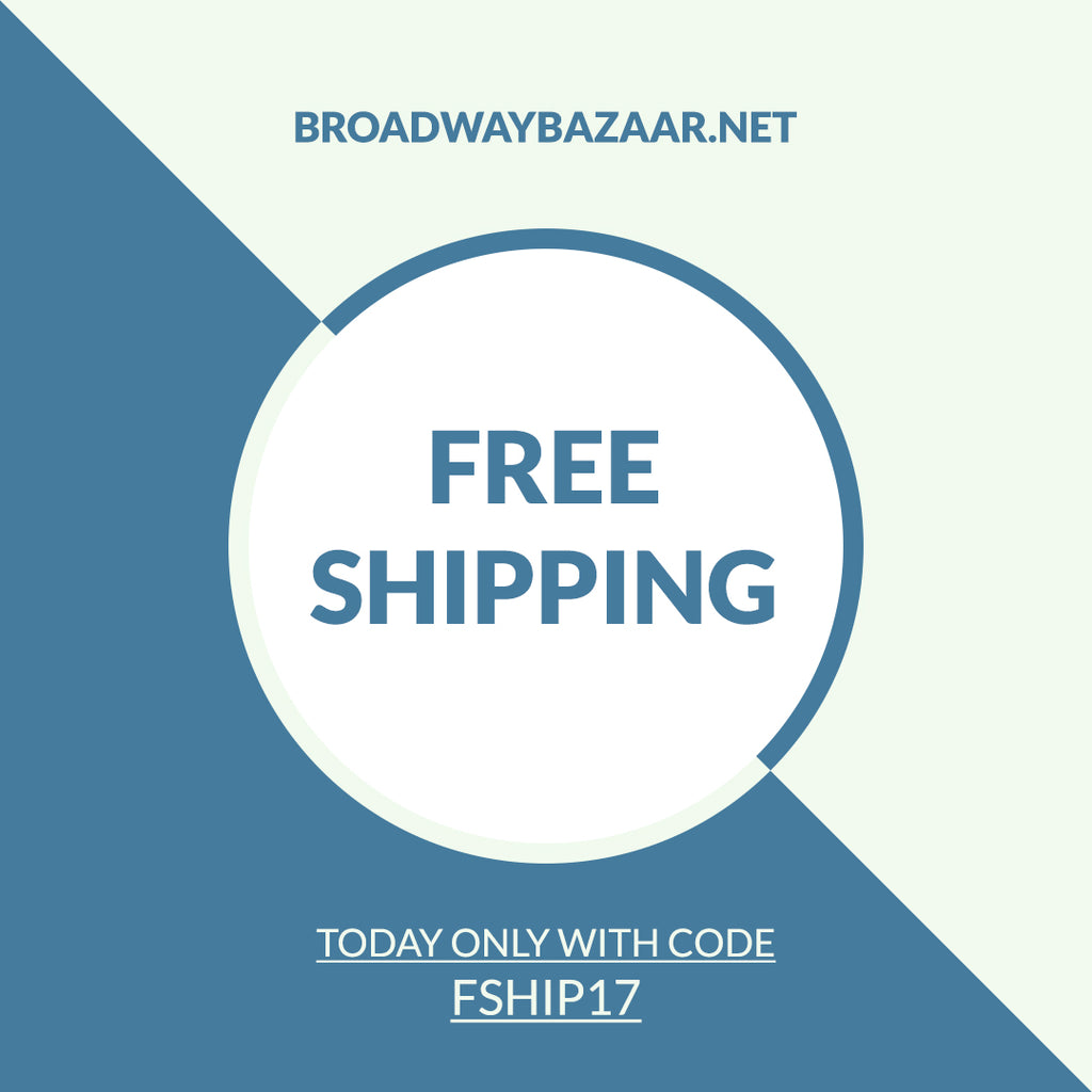 Free Shipping Discount for Today Only!