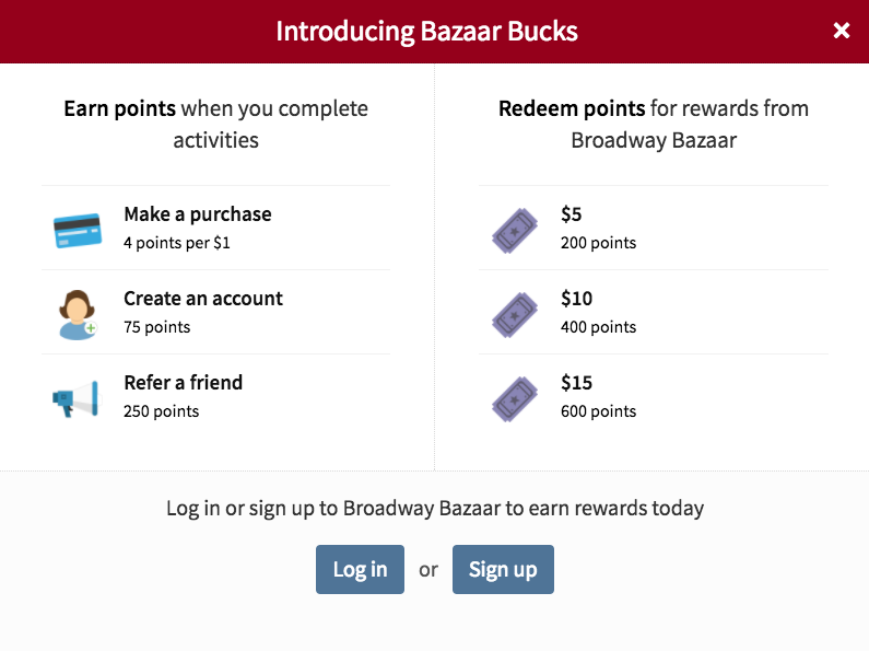 How To Sign Up For A Bazaar Bucks Account (Brief Overview)