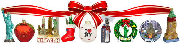 Broadway Holiday Ornaments